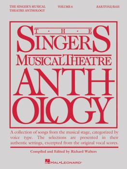 Singer's Musical Theatre Anthology - Volume 6: Baritone/Bass Book Only (HL-00145261)
