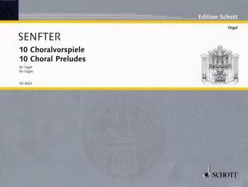 10 Choral Preludes (Organ) (HL-49013053)