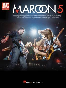 Maroon 5: Easy Guitar with Notes & Tab (HL-00146081)