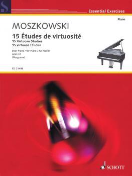 15 Virtuoso Studies, Op. 72 (Piano) (HL-49019309)
