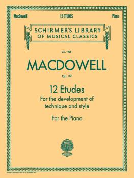 12 Etudes for the Development of Technique and Style, Op. 39: National (HL-50262790)