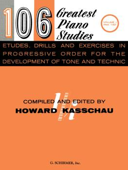 106 Greatest Piano Etudes, Drills and Exercises - Volume 1 (Piano Tech (HL-50329890)