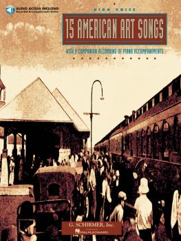 15 American Art Songs (High Voice) (HL-50482645)