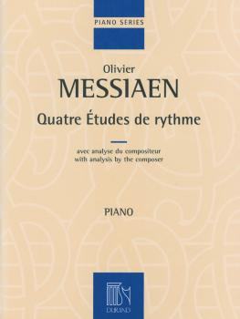4 Études de rythme (with analysis by the composer Piano) (HL-50564933)