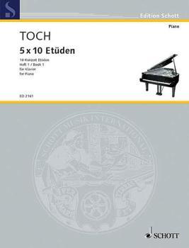 10 Concert Etudes Nos. 1-5, Op. 55 (Piano) (HL-49003636)