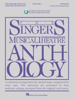 The Singer's Musical Theatre Anthology - Volume 6: Soprano, Book/Onlin (HL-00145264)
