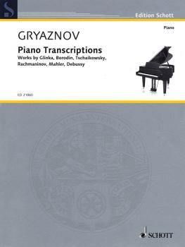 Piano Transcriptions: Works by Glinka, Borodin, Tchaikovsky, Rachmanin (HL-49044695)