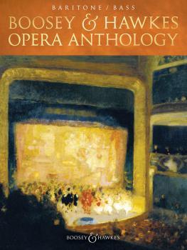 Boosey & Hawkes Opera Anthology - Baritone/Bass (HL-48023843)