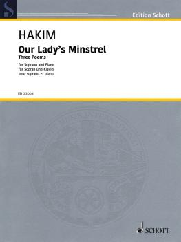 Our Lady's Minstrel: Three Poems Soprano and Organ (HL-49046025)
