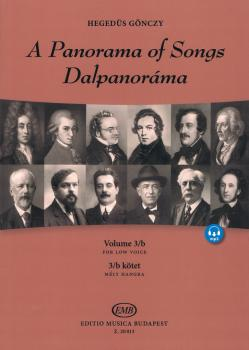 A Panorama of Songs 3/B: Easy Songs from Four Centuries in Six Languag (HL-50602278)