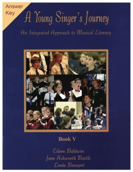 A Young Singer's Journey - Book 5 Answer Key: An Integrated Approach t (HL-00350478)