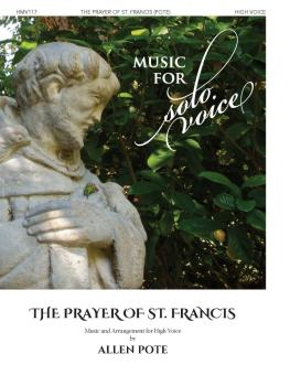 The Prayer of St. Francis: Music for Solo Voice Series - High Voice (HL-00356211)
