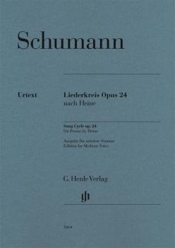 Liederkreis, Op. 24: Medium Voice and Piano (HL-51481464)