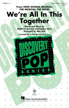 We're All In This Together (from HS Musical: The Musical: The Series)  (HL-00355215)