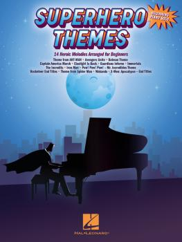 Superhero Themes: 14 Heroic Melodies Arranged for Beginners (HL-00362606)