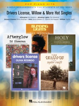 Drivers License, Willow & More Hot Singles: Pop Piano Hits Series (HL-00365910)