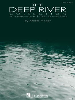 The Deep River Collection - Low Voice: Ten Spirituals for Low Voice an (HL-00740133)