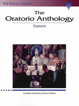 The Oratorio Anthology: The Vocal Library Soprano (HL-00747058)