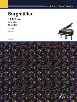 18 Etudes Op. 109 (Piano Solo) (HL-49003526)